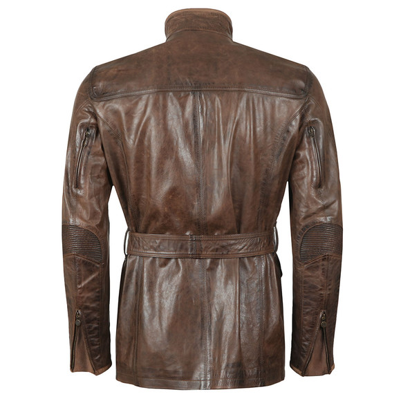 Matchless Mens Brown Kensington Leather Jacket main image