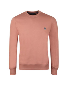 PS Paul Smith Mens Pink Zebra Sweatshirt