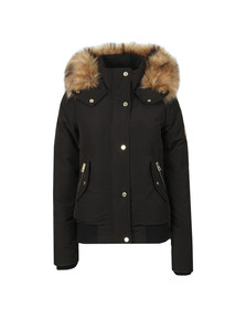 Holland Cooper Womens Black Cortina Bomber