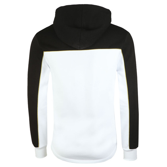 Eleven Degrees Mens White Ghost Pull Over Hoodie main image
