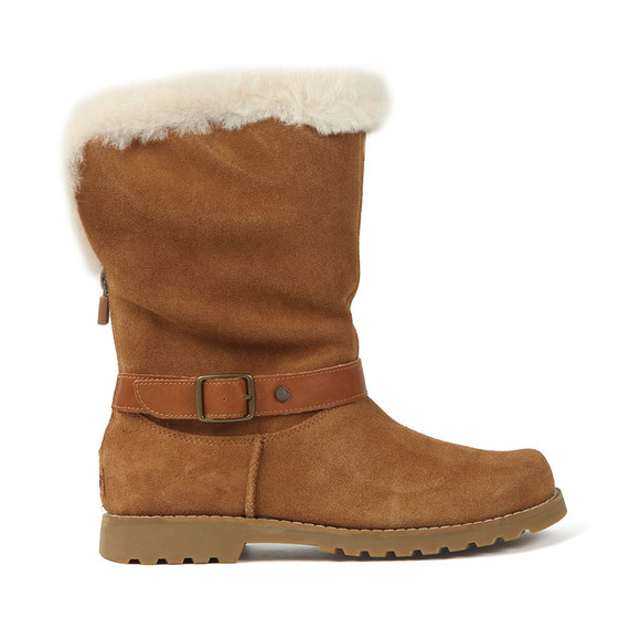 Ugg Girls Brown Nessa Boot main image