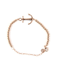 Tom Hope Womens Pink Beaded Saint Bracelet