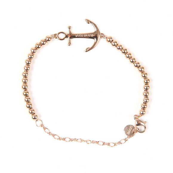 Tom Hope Womens Pink Beaded Saint Bracelet main image