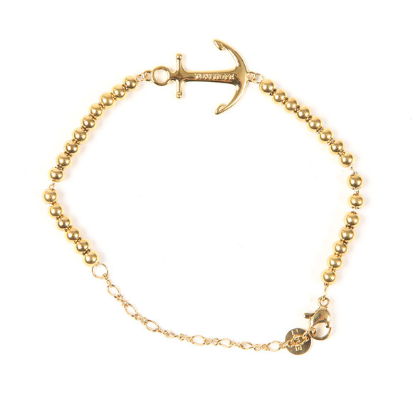 Tom Hope Womens Gold Beaded Saint Bracelet main image