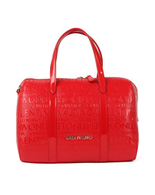 Valentino by Mario Womens Red Serenity Satchel