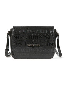 Valentino by Mario Womens Black Serenity Shoulder Bag