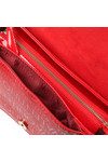 Valentino by Mario Womens Red Serenity Shoulder Bag