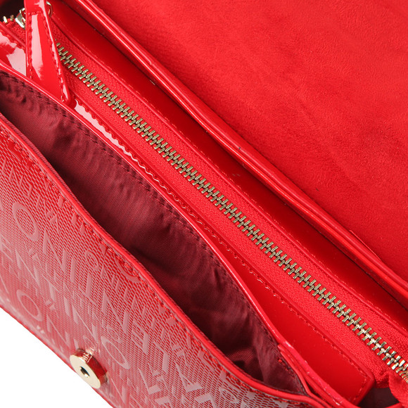 Valentino by Mario Womens Red Serenity Shoulder Bag main image