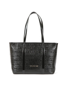 Valentino by Mario Womens Black Serenity Large Tote