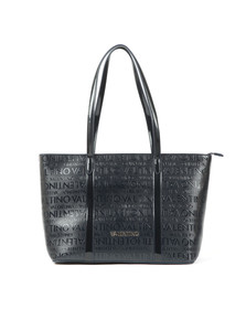 Valentino by Mario Womens Blue Serenity Large Tote