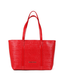Valentino by Mario Womens Red Serenity Large Tote