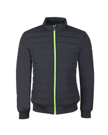 Superdry Mens Blue International Quilted Jacket