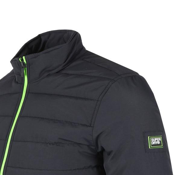 Superdry Mens Blue International Quilted Jacket main image