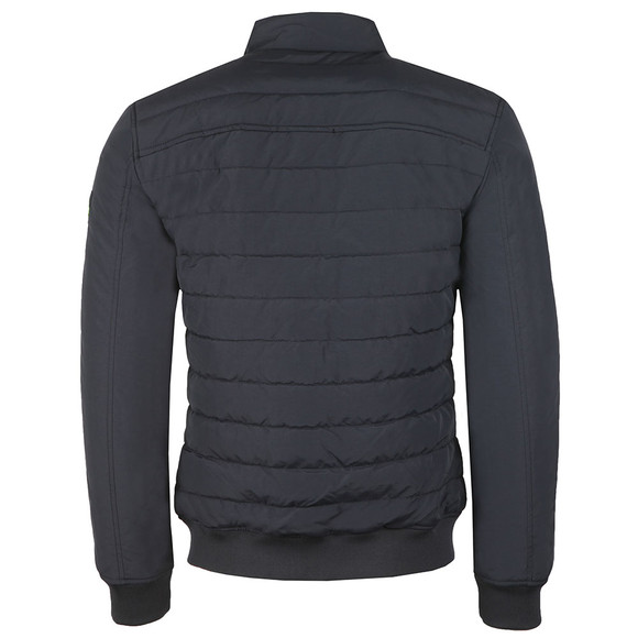 Superdry Mens Blue International Quilted Jacket main image
