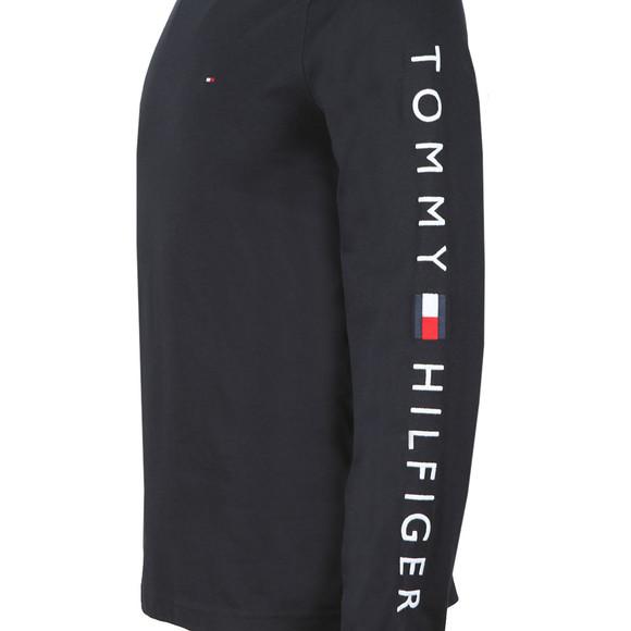 Tommy Hilfiger Mens Blue L/S Flag Tee main image