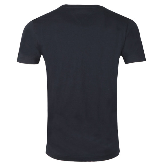 Tommy Hilfiger Mens Blue S/S Logo Tee main image
