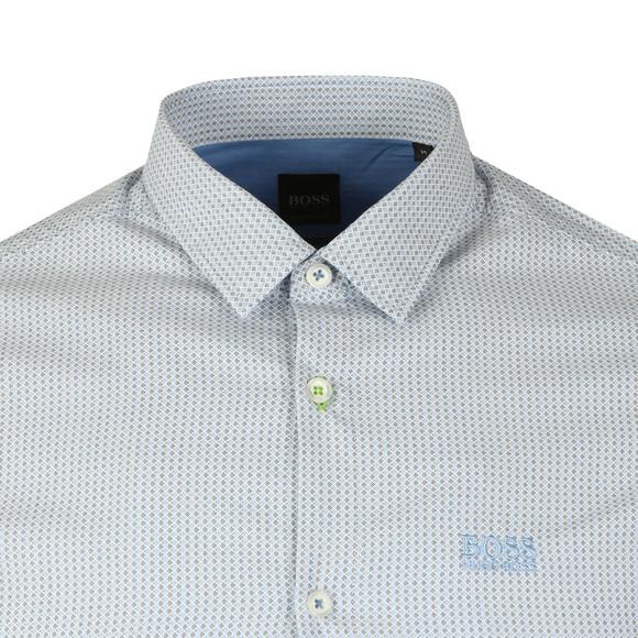 BOSS Mens Blue Athleisure Brod Shirt