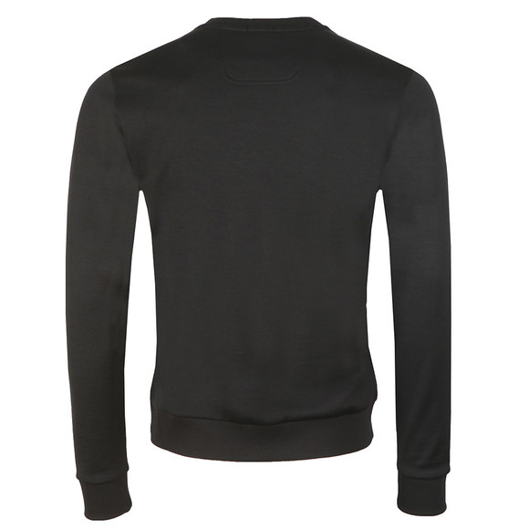 BOSS Mens Black Athleisure Salbo Crew Sweatshirt main image