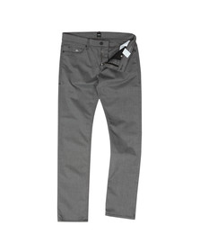 BOSS Mens Grey Athleisure Delaware Trouser