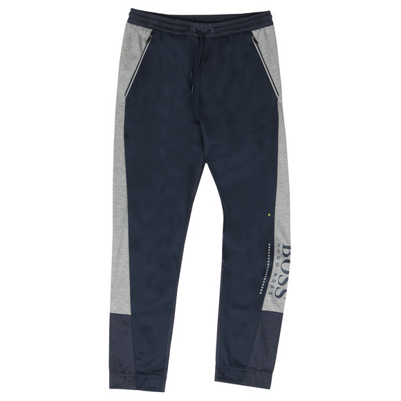 BOSS Mens Blue Athleisure HL-Tech Joggers main image