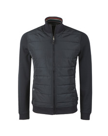 Ted Baker Mens Blue L/S Quilted Funnel Neck