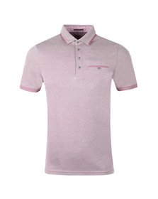 Ted Baker Mens Pink S/S Soft Touch Polo