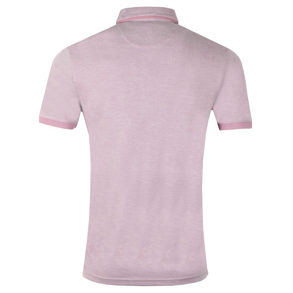 Ted Baker Mens Pink S/S Soft Touch Polo main image