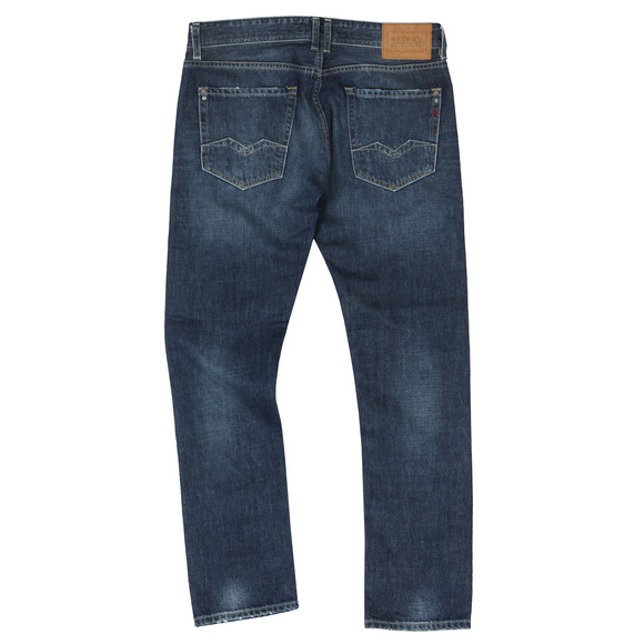 Replay Mens Blue Rob Straight Taperd Jean main image