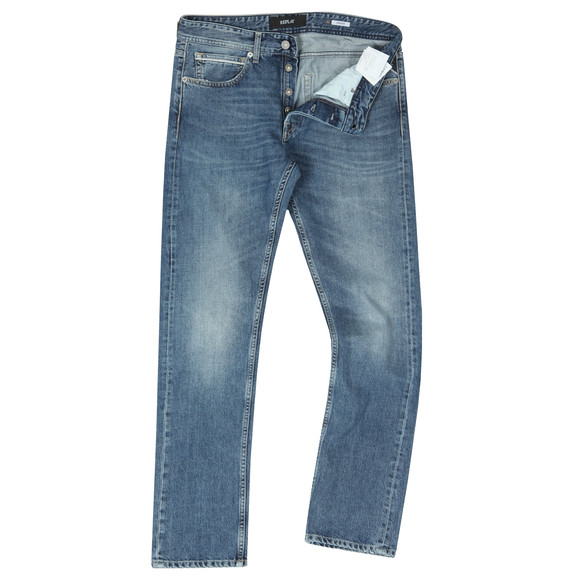 Replay Mens Blue Grover Jean
