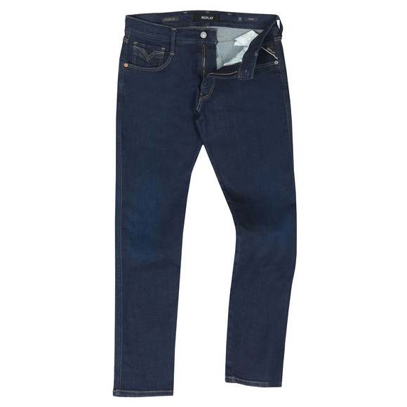 Replay Mens Blue Hyperflex Anbass Jean main image
