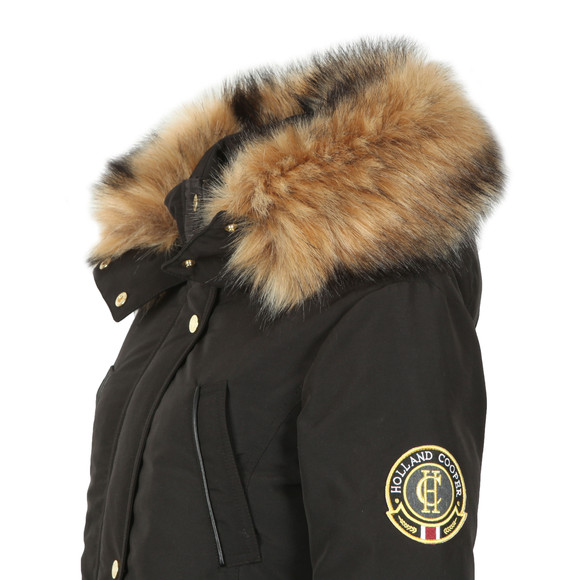 Holland Cooper Womens Black Mountaineer Parka main image