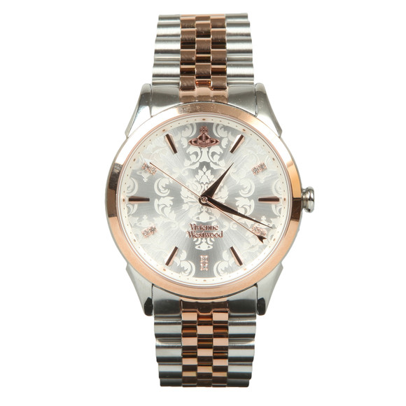 Vivienne Westwood Womens Silver The Wallace Ladies Watch