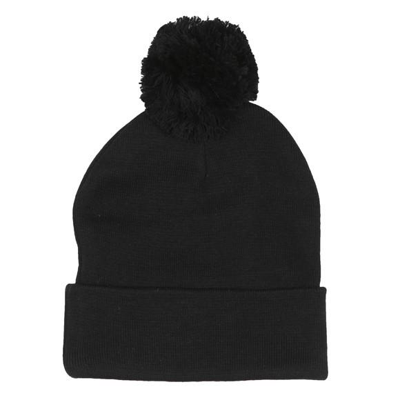 Sik Silk Mens Black Cuff Knit Bobble Hat main image