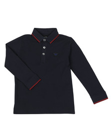Emporio Armani Boys Blue 6Z4FB6 Polo Shirt