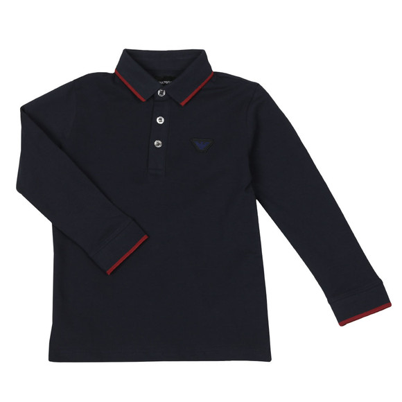 Emporio Armani Boys Blue 6Z4FB6 Polo Shirt main image