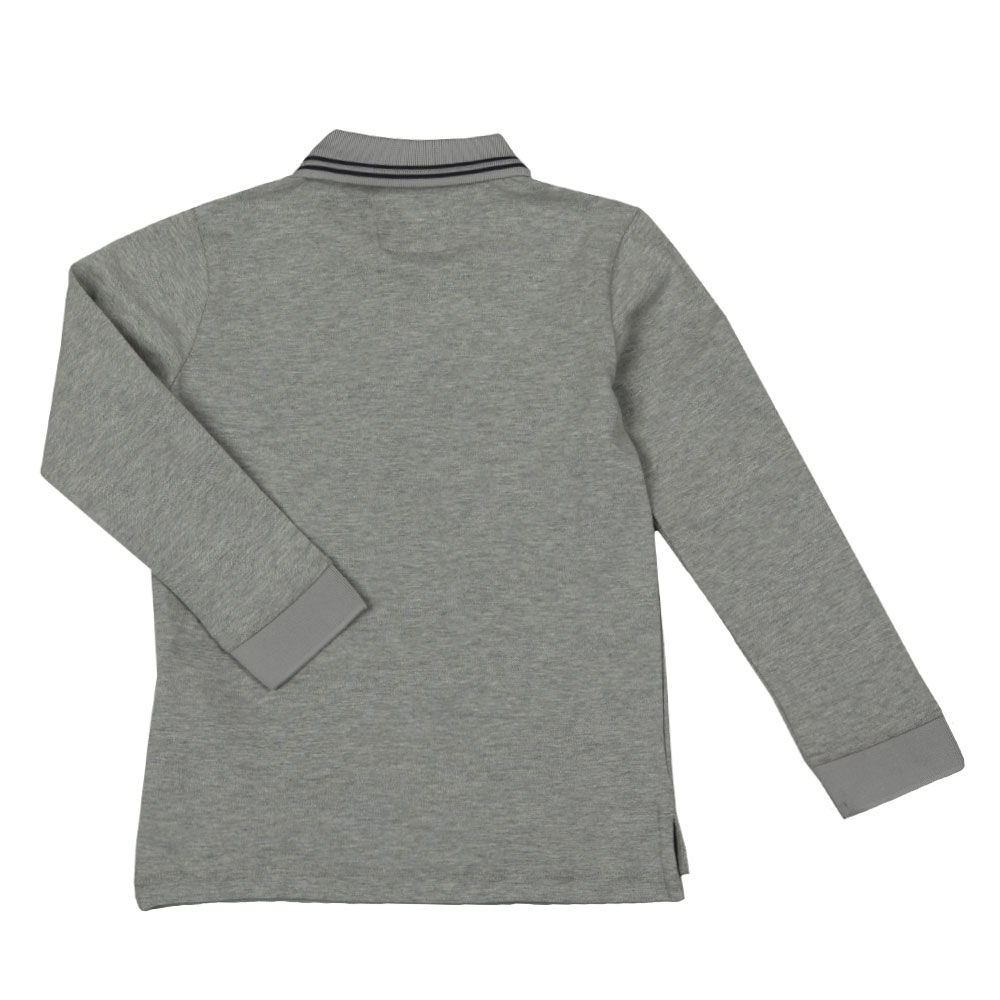 Long Sleeve Tipped Polo Shirt main image