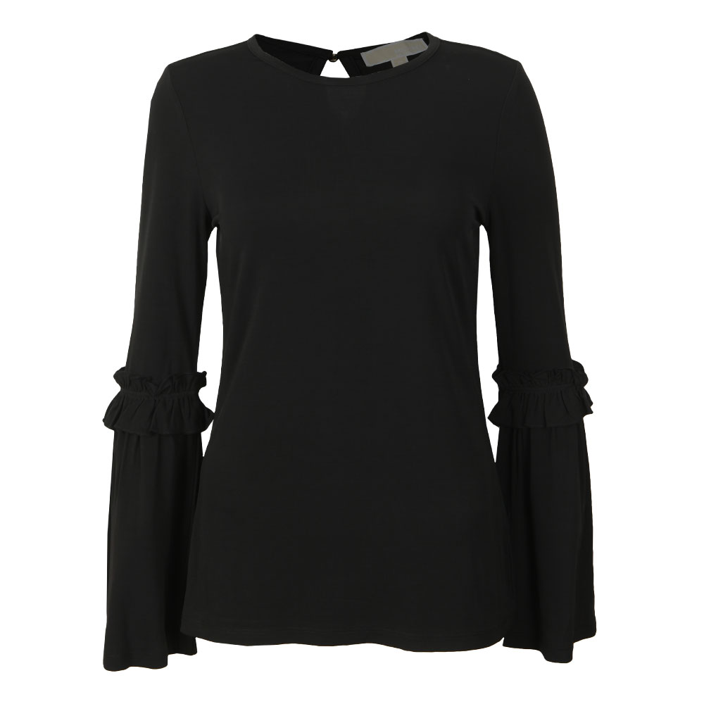 Flare Cuff Long Sleeve Top main image