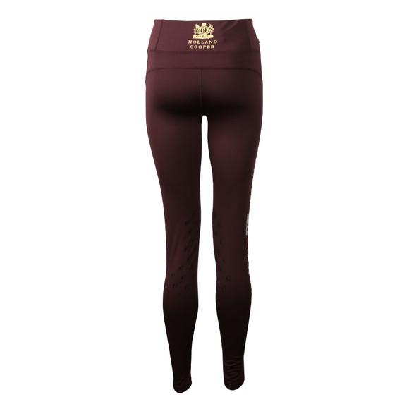 Holland Cooper Womens Purple Equitech Legging main image