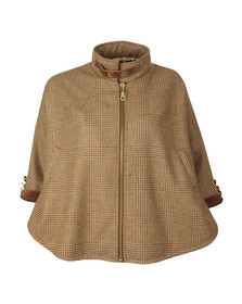 Holland Cooper Girls Beige Cooper Cape