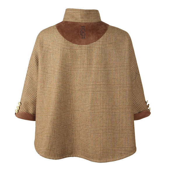Holland Cooper Girls Beige Cooper Cape  main image