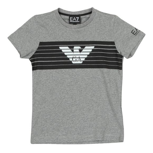 EA7 Emporio Armani Boys Grey 6ZBT54 T Shirt main image
