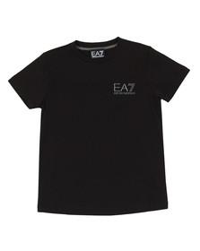 EA7 Emporio Armani Boys Black Boys Small  Logo T Shirt