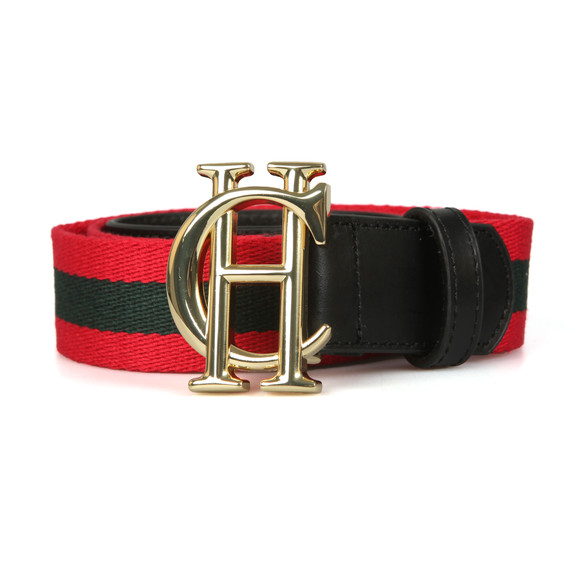 Holland Cooper Womens Red Gatcombe Belt main image