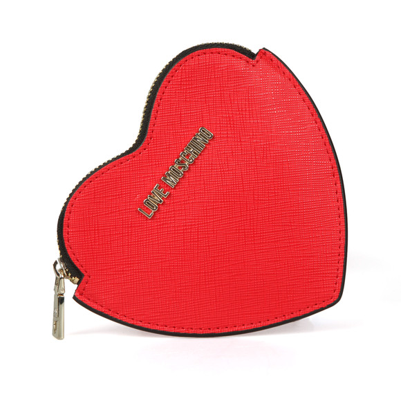 Love Moschino Womens Red Love Heart Purse main image