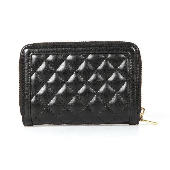 Love Moschino Womens Black Quilted Nappa Wallet main image