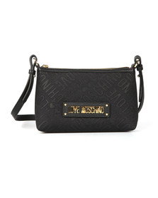 Love Moschino Womens Black Borsa Tess Canvas Bag