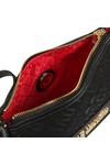 Love Moschino Womens Black Borsa Tess Canvas Bag