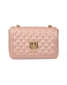Love Moschino Womens Pink Borsa Quilted Bag