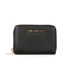 Love Moschino Womens Black Saffiano Small Purse