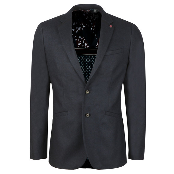 Ted Baker Mens Blue Matza Core Wool Jacket